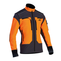 PSS X-treme Vario Stretchjacke/Funktionsjacke - orange/grau